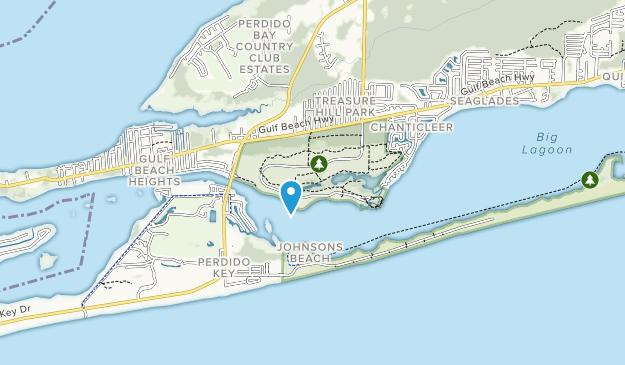 Big Map Of Florida.Best Trails In Big Lagoon State Park Florida Alltrails