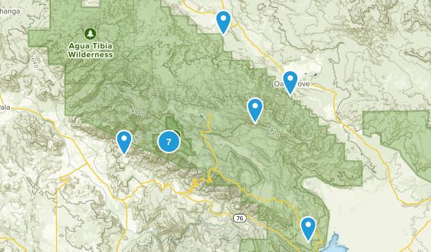 Palomar Mountain State Park Map