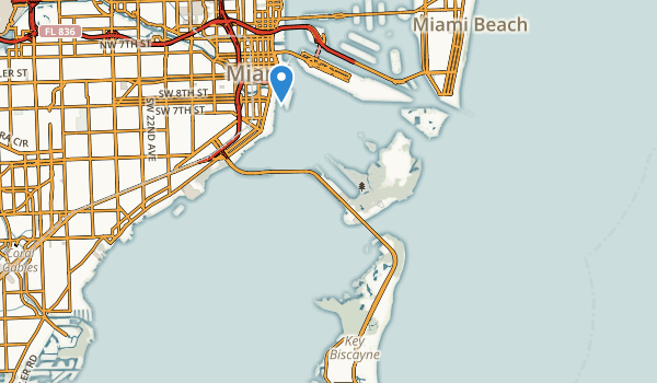 Bill Baggs Cape Florida State Park Map