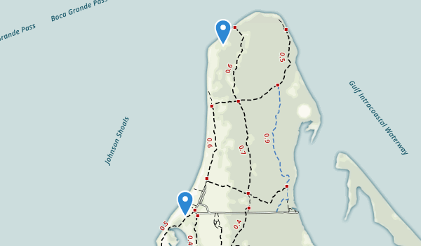 Cayo Costa State Park Map