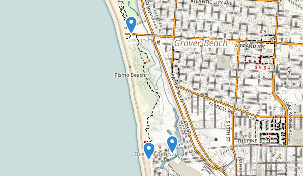 Pismo State Beach Map