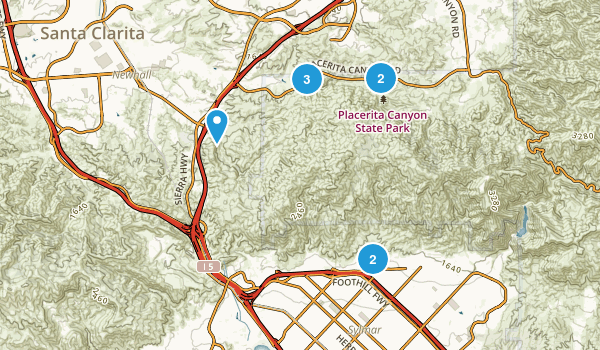 Best Trails In Placerita Canyon State Park California - Us state parks map