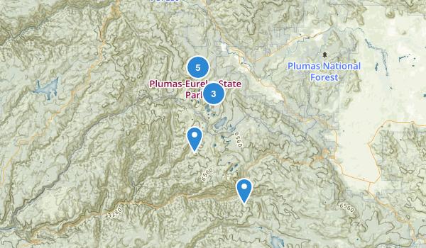 Plumas-Eureka State Park Map