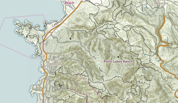 Point Lobos Ranch Map