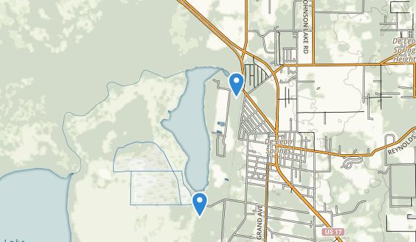 De Leon Springs State Park Map