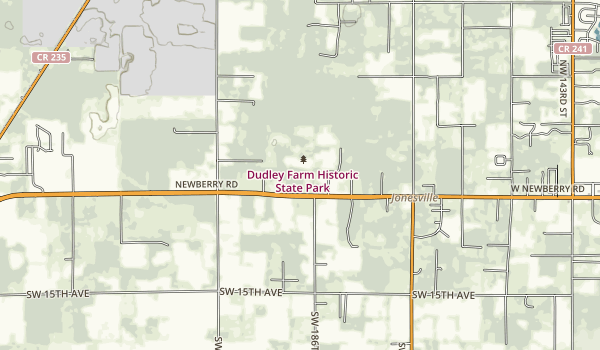 Dudley Farm Historic State Park Map