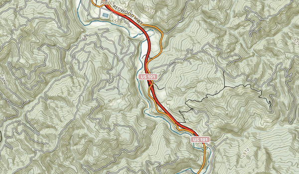 Reynolds Wayside Campground Map