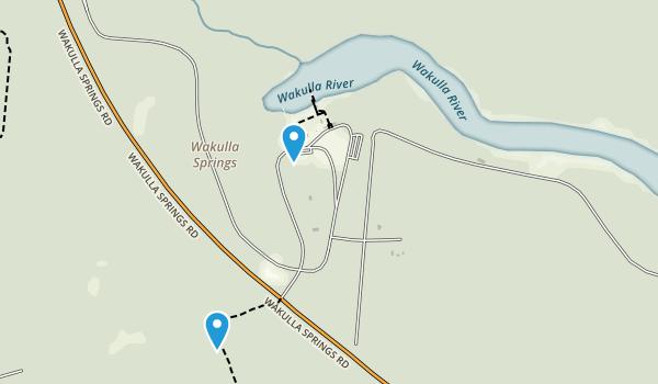 Edward Ball Wakulla Springs State Park Map