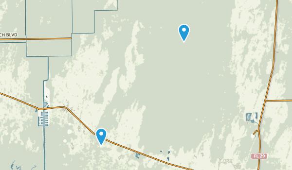 Fakahatchee Strand Preserve State Park Map