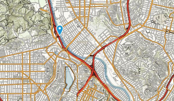 Rio de Los Angeles State Park Map