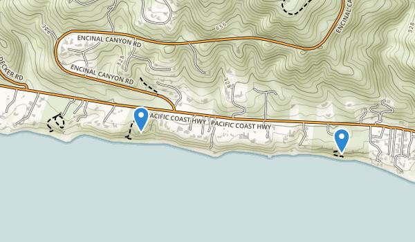 Robert H. Meyer Memorial State Beach Map