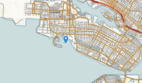 Robert W. Crown Memorial State Beach Map