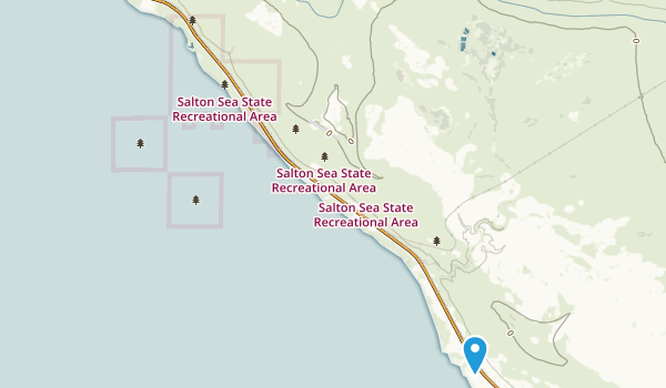 Best Trails In Salton Sea State Recreation Area California - Salton sea on us map