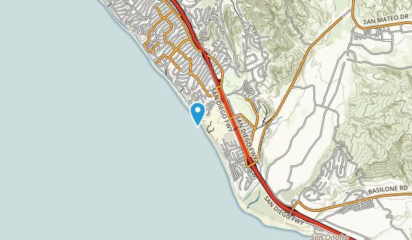San Clemente State Beach Map