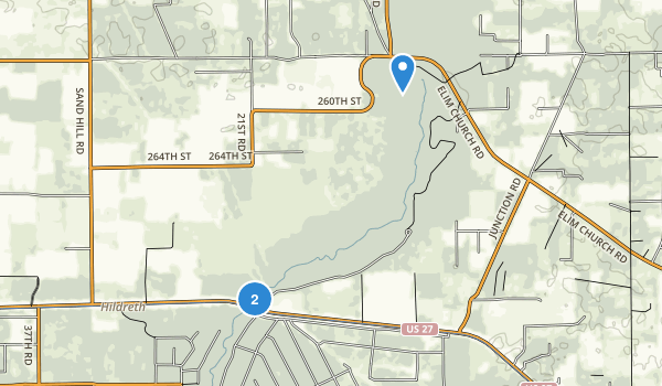 Ichetucknee Springs State Park Map
