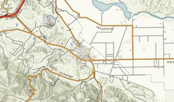 San Juan Bautista State Historic Park Map