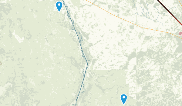 Kissimmee Prairie Preserve State Park Map