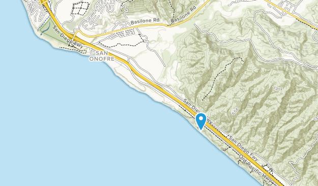 Playa Estatal San Onofre Map