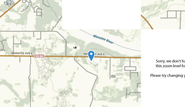 Lake Manatee State Park Map