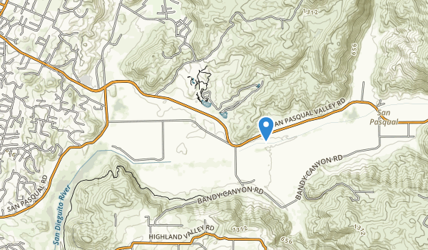 San Pasqual Battlefield State Historic Park Map
