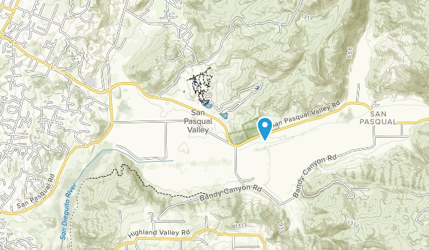 San Pasqual Battlefield State Historic Park Map