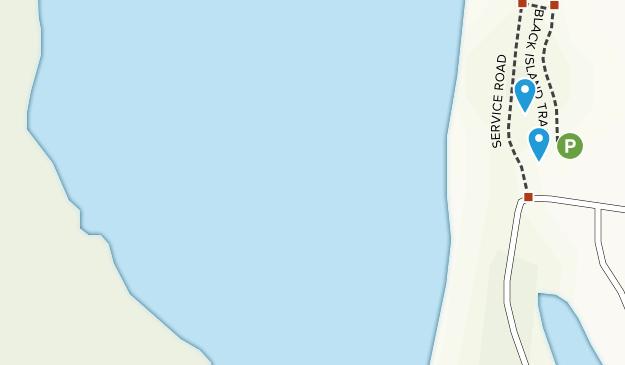 Parque Estatal Lovers Key Map