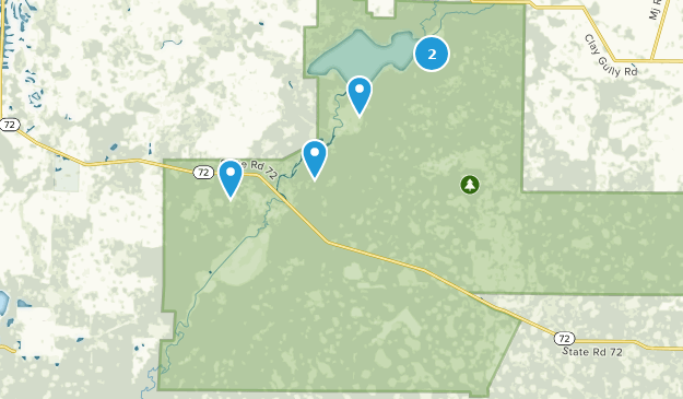 Myakka River State Park Map