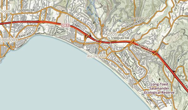 Seacliff State Beach Map