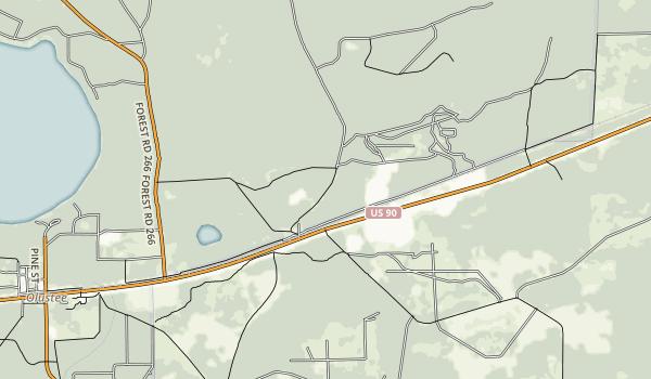 Olustee Battlefield Historic State Park Map