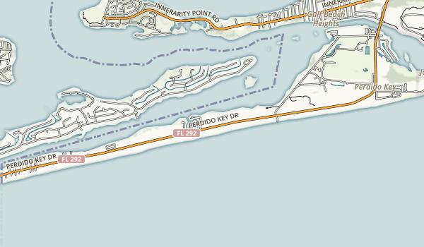 Perdido Key State Park Map