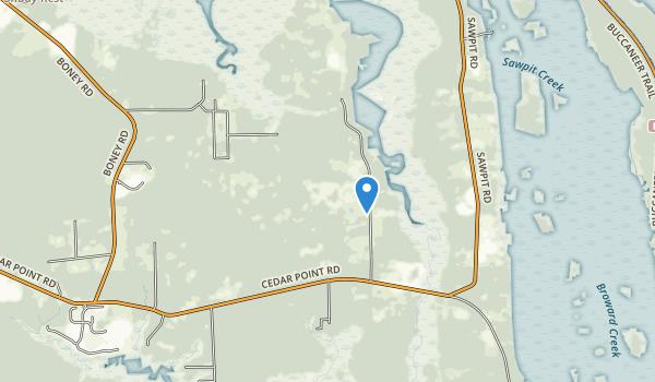 Pumpkin Hill Creek Preserve State Park Map