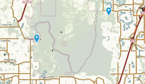 Rock Springs Run State Reserve Map