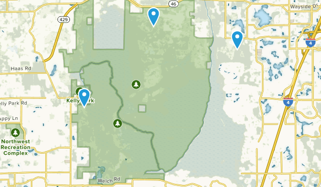Rock Springs Run State Reserve Map