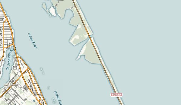 Sebastian Inlet State Park Map