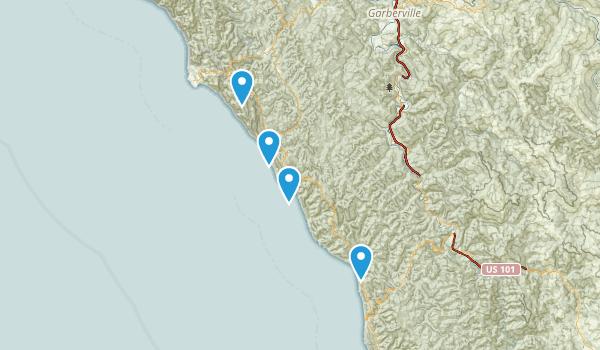 Sinkyone Wilderness State Park Map