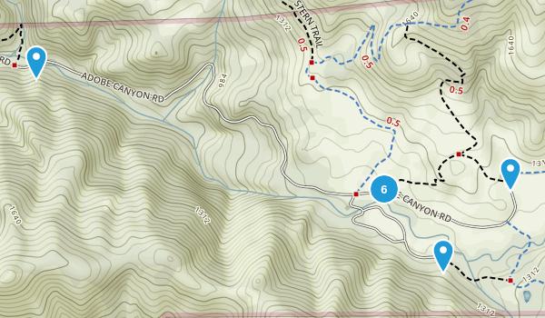 Sugarloaf Ridge State Park Map