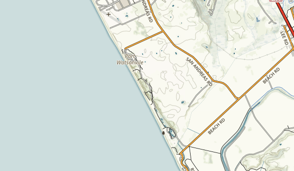 Sunset State Beach Map