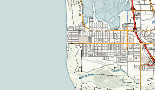 Tijuana Estuary NP Map