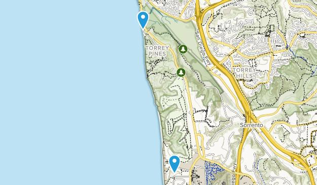 Torrey Pines State Beach Map