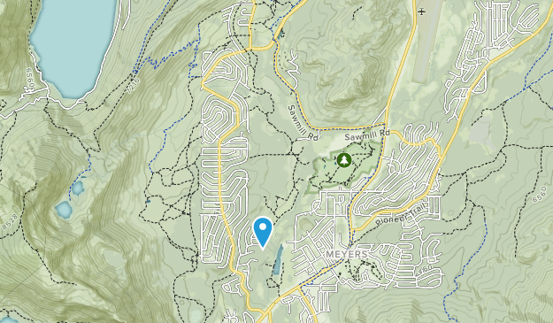 Washoe Meadows State Park Map