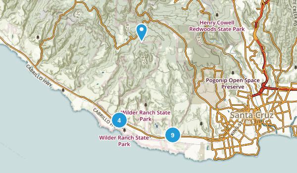 Wilder Ranch State Park Map