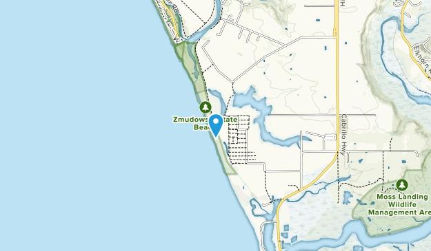 Zmudowski State Beach Map