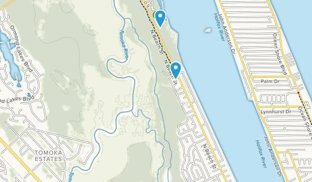 Tomoka State Park Map