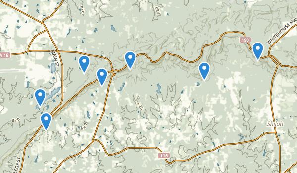 F.D. Roosevelt State Park Map
