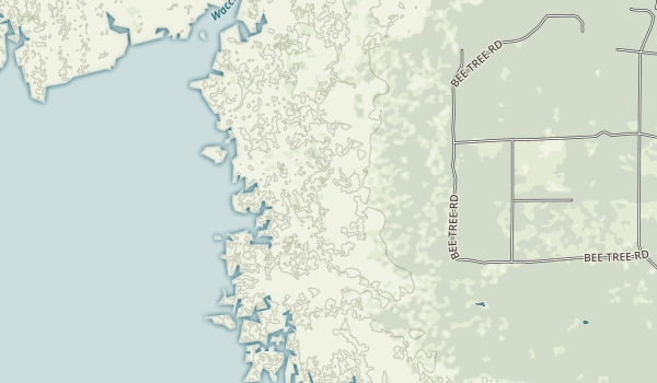 Waccasassa Bay Preserve State Park Map