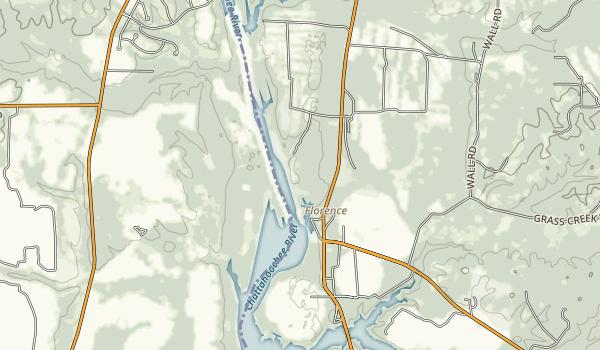 Florence Marina State Park Map