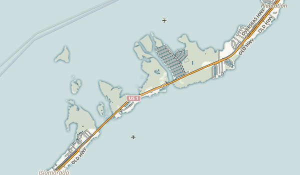 Windley Key Fossil Reef Geological State Park Map