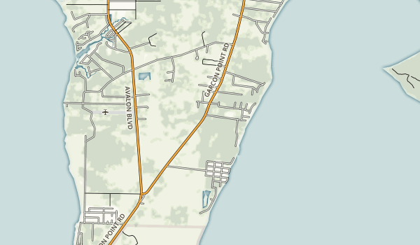 Yellow River Marsh Preserve State Park Map