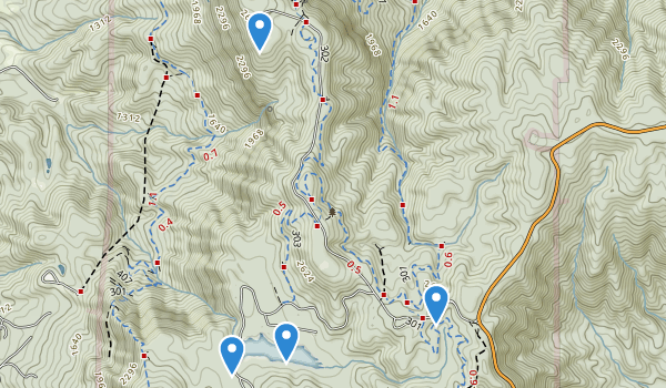 Fort Mountain State Park Map