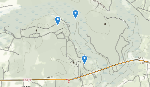 trail locations for General Coffee State Park